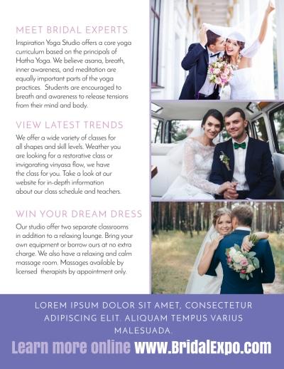Wedding Expo Flyer Template Preview 2
