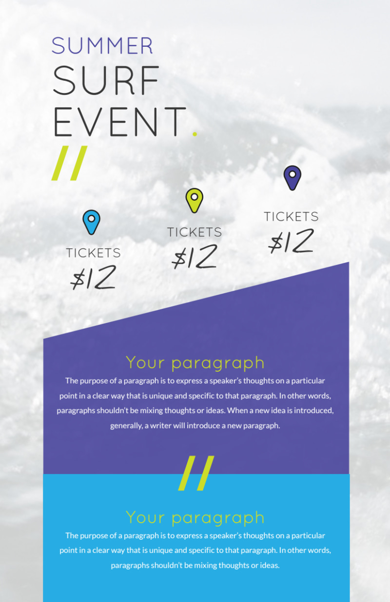 Surfing Event Flyer Template Preview 3