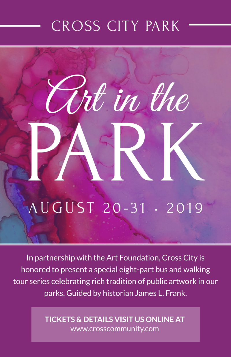 Art In The Park Poster Template Preview 2