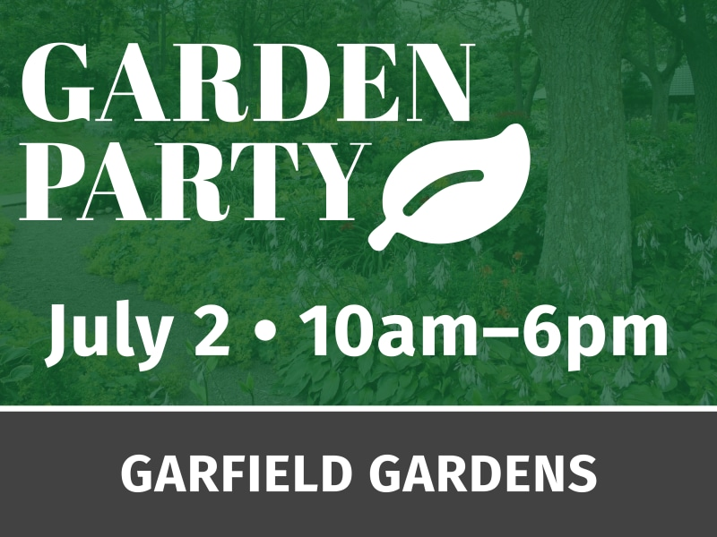 Garden Party Event Yard Sign Template Preview 2