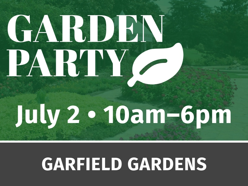 Garden Party Event Yard Sign Template Preview 3