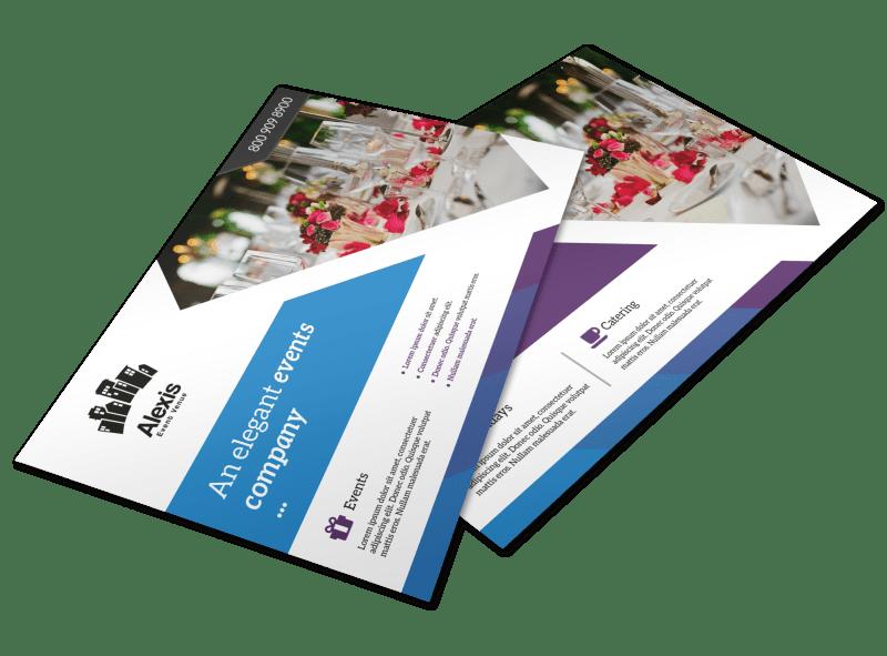 Elegant Event Postcard Template Preview 1