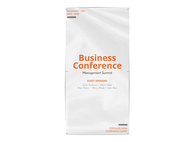 Business Conference Banner Template Preview 3