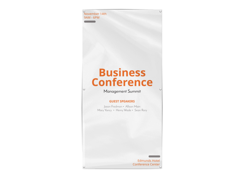 Business Conference Banner Template Preview 1