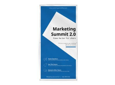 Marketing Conference Banner Template preview