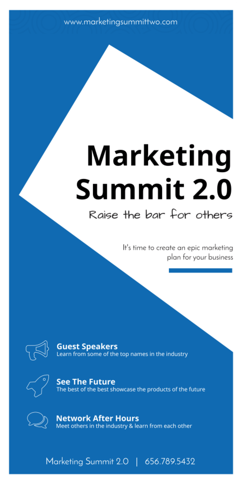 Marketing Conference Banner Template Preview 2