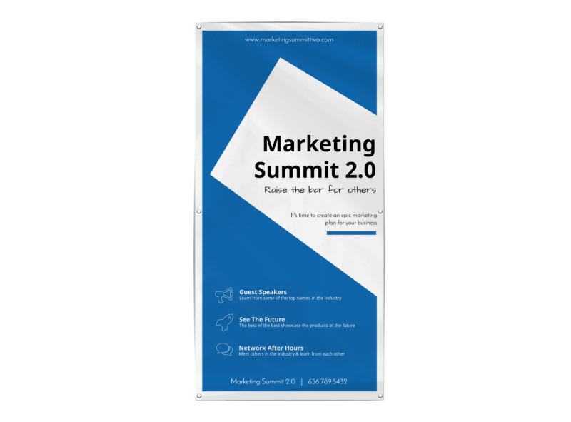 Marketing Conference Banner Template Preview 1