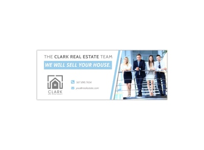 Sell Your House Facebook Cover Template preview