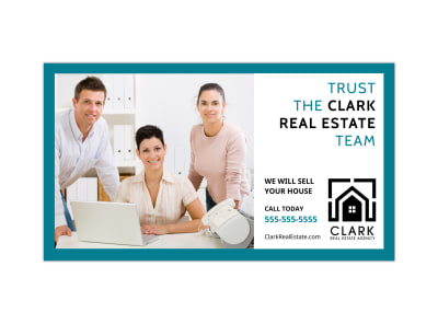 Real Estate Team Facebook Event Cover Template preview