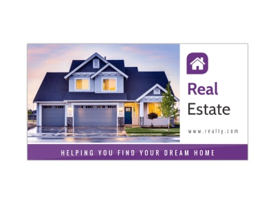 Dream Home Facebook Post Template preview
