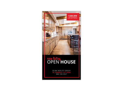 New Listing Open House Instagram Story Template preview