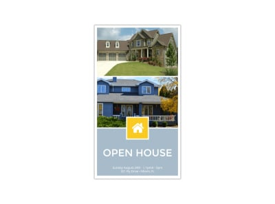 Simple Open House Instagram Story Template preview