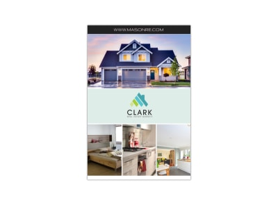 Real Estate Collage Pinterest Graphic Template preview
