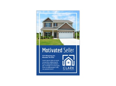 Motivated Seller Pinterest Graphic Template preview