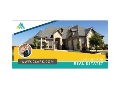 Looking For Real Estate Twitter Post Template preview