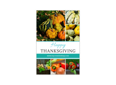 Thanksgiving Blog Image Tall Template preview