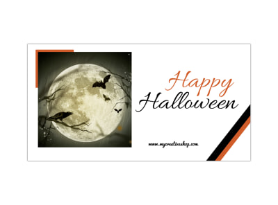 Happy Halloween Blog Image Template preview