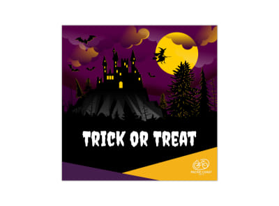 Trick Or Treat Blog Image Square Template preview