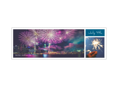 4th Of July Twitter Header Template preview
