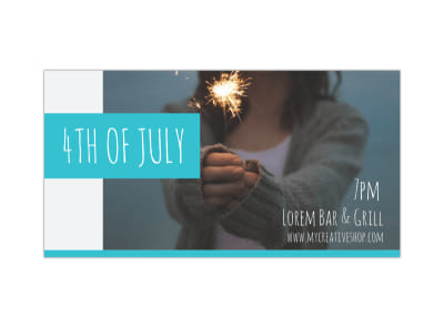 4th Of July Blog Image Wide Template preview