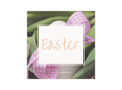 Easter Instagram Post Template preview