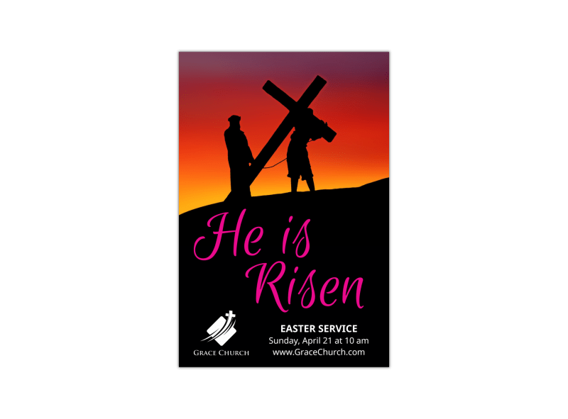 He Is Risen Easter Blog Image