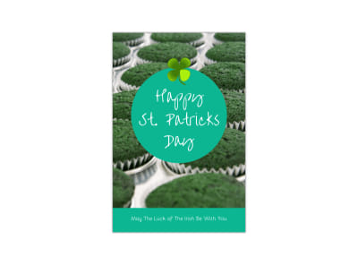 Happy Saint Patrick's Day Blog Image Template preview