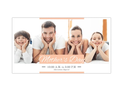 Mother's Day Facebook Event Cover Template preview