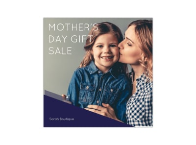 Mother's Day Sale Instagram Post Template preview