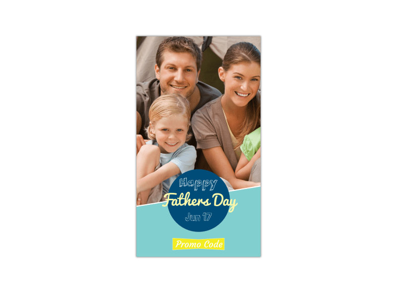 Father's Day Instagram Story Template