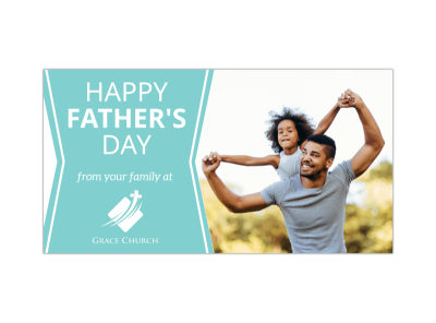 Happy Father's Day Blog Image Template preview