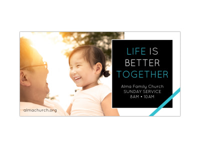 Church Together Facebook Post Template preview