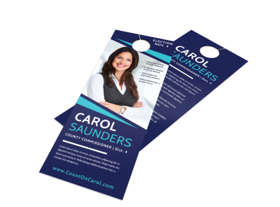 Nice Campaign Door Hanger Template preview