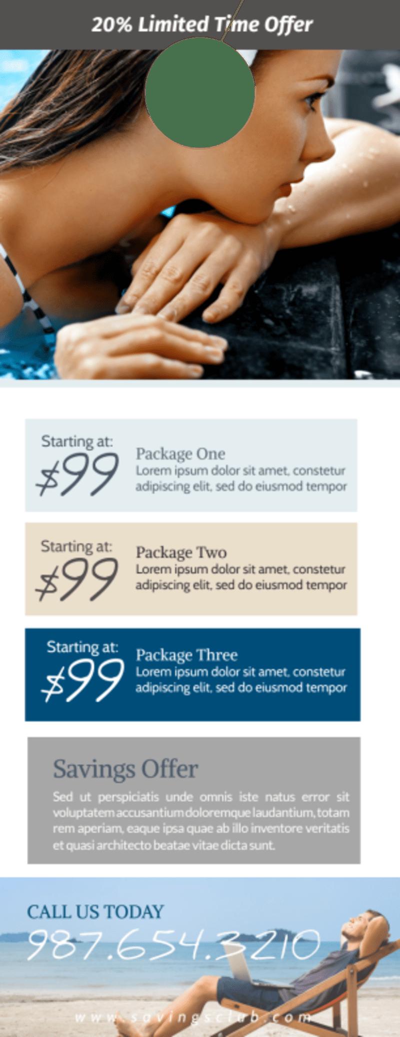 Luxury Hotel Rewards Program Door Hanger Template Preview 3