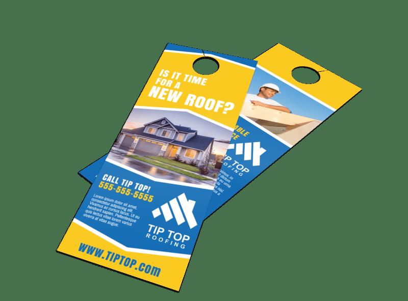 New Roof Door Hanger Template Preview 1