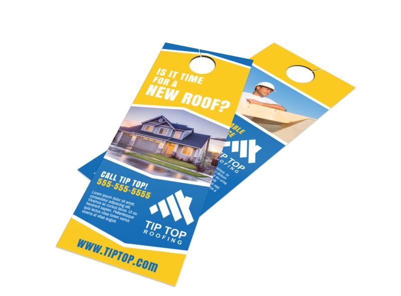 New Roof Door Hanger Template Preview 4