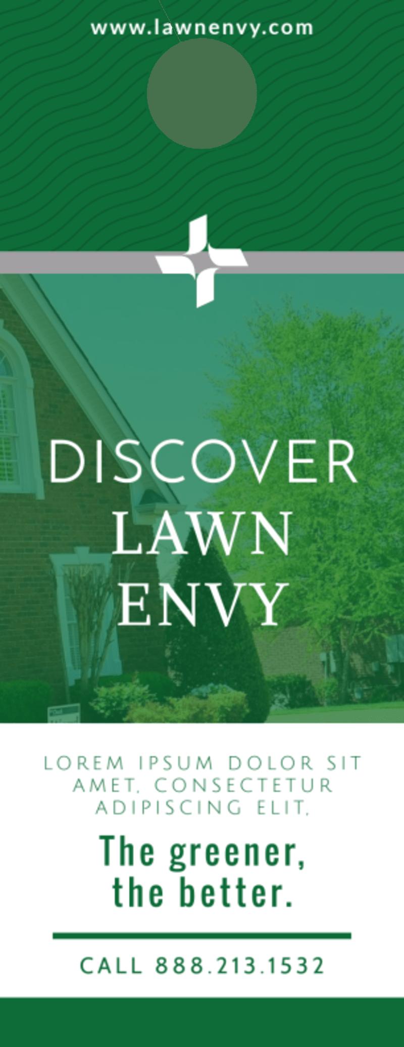 Lawn Envy Door Hanger Template Preview 2