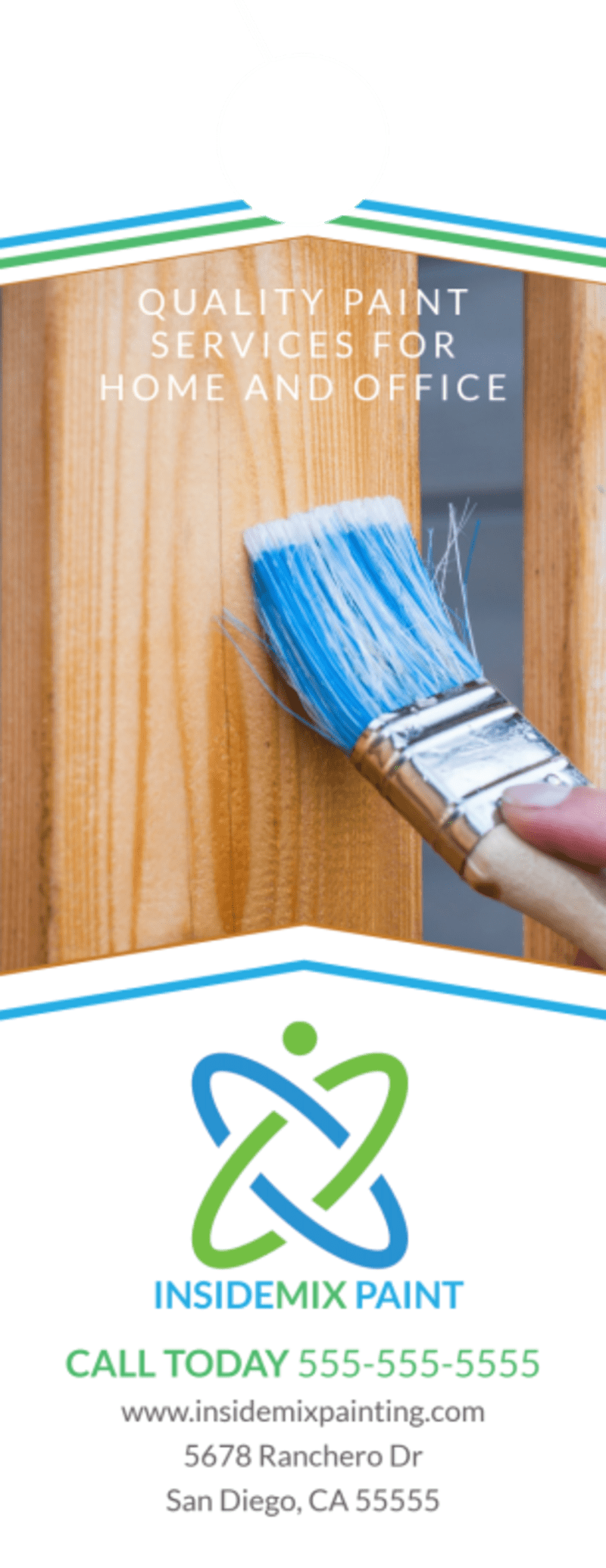 Quality Painting Door Hanger Template Preview 2