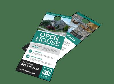Open House Door Hangers Template Preview