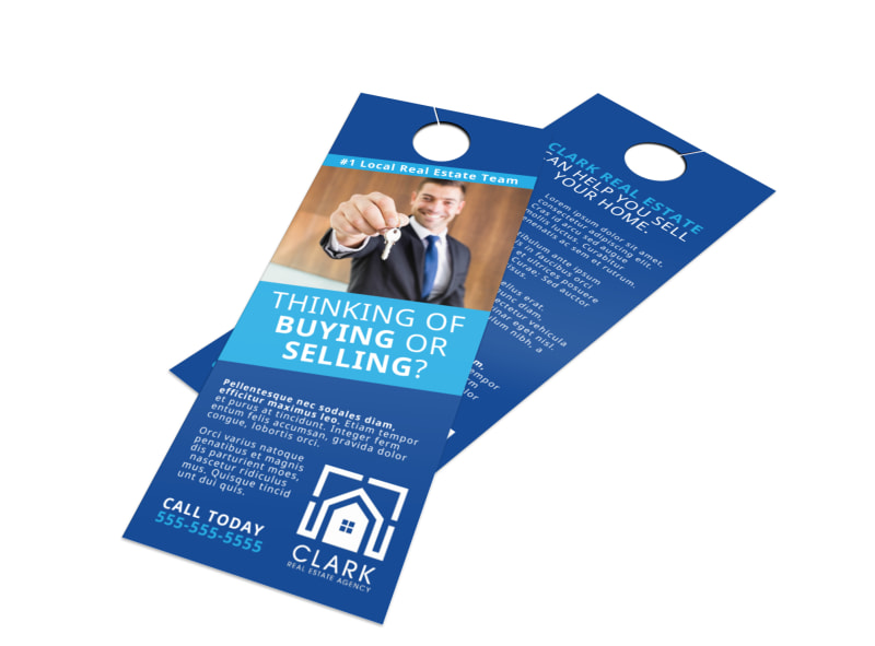 Real Estate Thinking Of Buying Door Hanger Template Preview 4