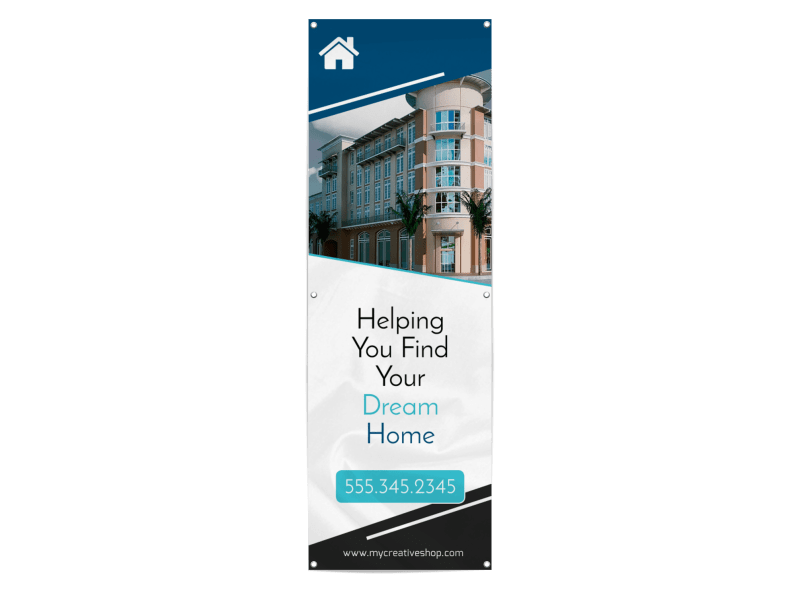 Dream Home Real Estate Banner Template Preview 1