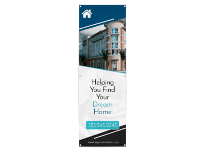 Dream Home Real Estate Banner Template preview