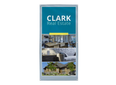 Real Estate Collage Banner Template