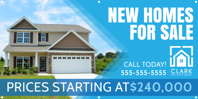 New Homes For Sale Banner Template Preview 1