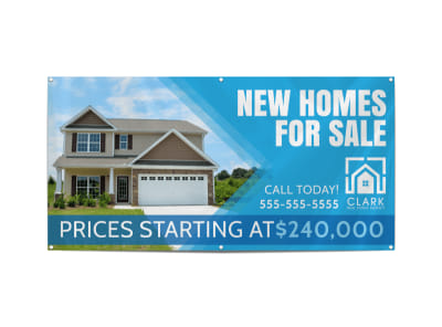 New Homes For Sale Banner Template