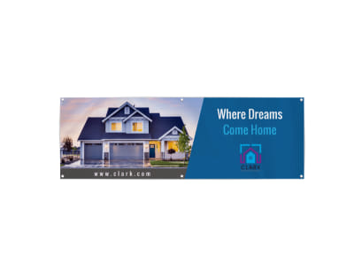 Real Estate Home Banner Template