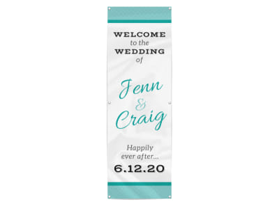 Welcome Wedding Banner Template preview