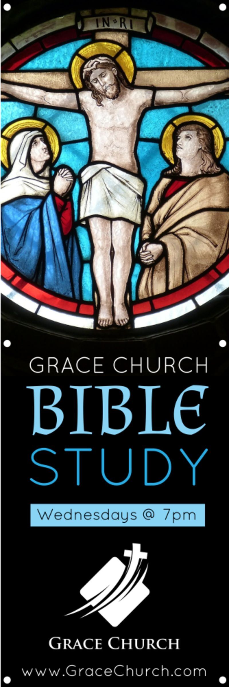 Church Bible Study Banner Template Preview 2