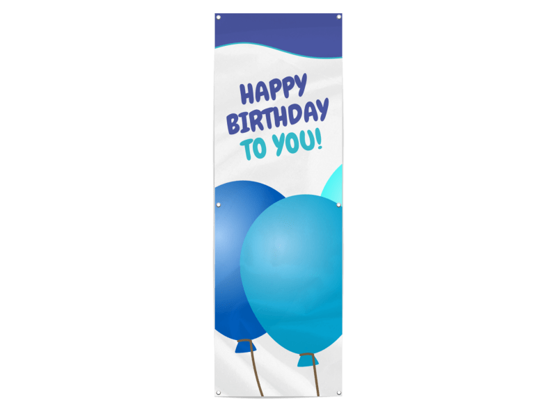 Happy Birthday Banner Template Preview 1