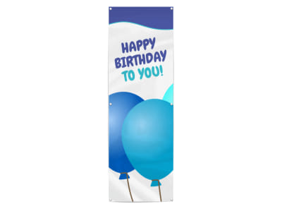 Happy Birthday Banner Template preview